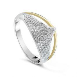 Кольцо с бриллиантами из желтого золота VALTERA 61463