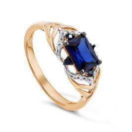 Кольцо с сапфирами и бриллиантами из розового золота VALTERA 92018