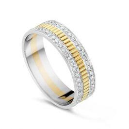 Кольцо с бриллиантами из желтого золота VALTERA 54685