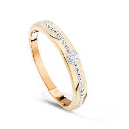 Кольцо с бриллиантами из розового золота VALTERA 74375