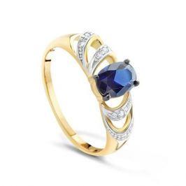 Кольцо с сапфирами и бриллиантами из розового золота VALTERA 91779