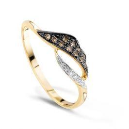 Кольцо с бриллиантами из розового золота VALTERA 64580
