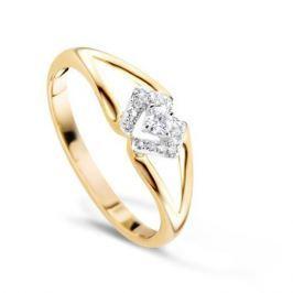 Кольцо с бриллиантами из розового золота VALTERA 65333