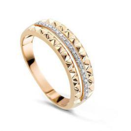 Кольцо с бриллиантами из розового золота VALTERA 74383