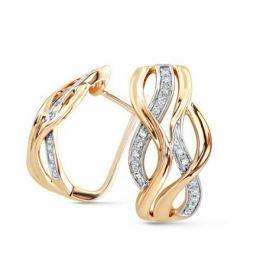 Серьги с бриллиантами из розового золота VALTERA 63623