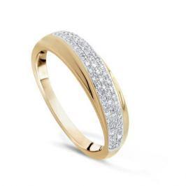 Кольцо с бриллиантами из розового золота VALTERA 65916