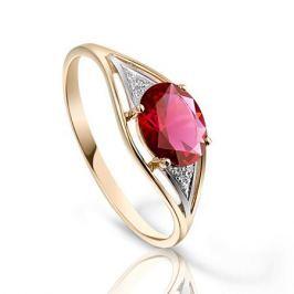 Кольцо с рубинами и бриллиантами из розового золота VALTERA 92761