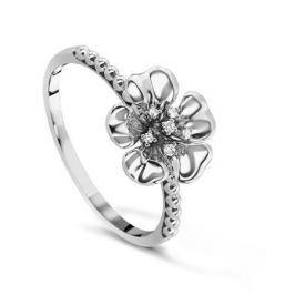 Кольцо с бриллиантами из белого золота VALTERA 60582