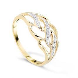Кольцо с бриллиантами из розового золота VALTERA 55219