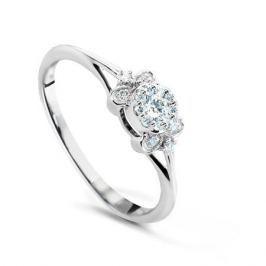 Кольцо с бриллиантами из белого золота VALTERA 72824