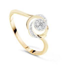 Кольцо с бриллиантами из розового золота VALTERA 71730