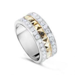 Кольцо с бриллиантами из желтого золота VALTERA 54378