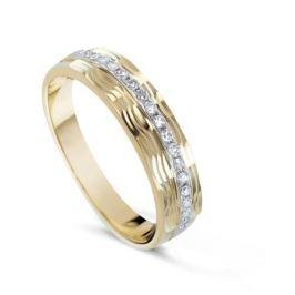Кольцо с бриллиантами из желтого золота VALTERA 54787