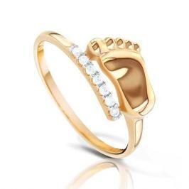 Кольцо из розового золота 87764