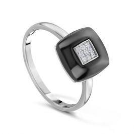 Кольцо керамика из серебра VALTERA 81589