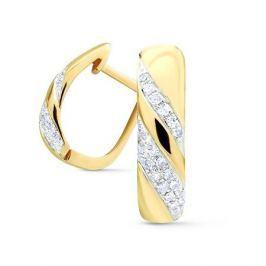 Серьги с бриллиантами из розового золота VALTERA 74745