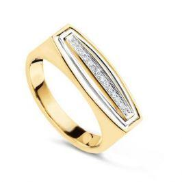 Кольцо с бриллиантами из розового золота VALTERA 57754
