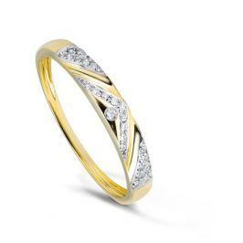 Кольцо с бриллиантами из желтого золота VALTERA 79372