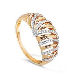 Кольцо с бриллиантами из розового золота VALTERA 57854