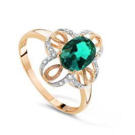 Кольцо с изумрудами и бриллиантами из розового золота VALTERA 68608
