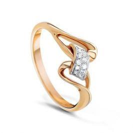 Кольцо с бриллиантами из розового золота VALTERA 53920