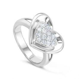 Кольцо из серебра VALTERA 46691