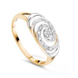 Кольцо с бриллиантами из розового золота VALTERA 56950