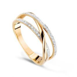 Кольцо с бриллиантами из розового золота VALTERA 57779