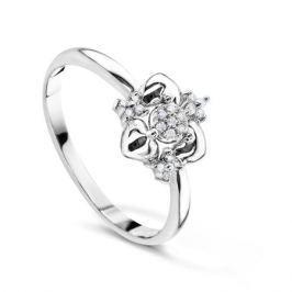 Кольцо с бриллиантами из белого золота VALTERA 60727