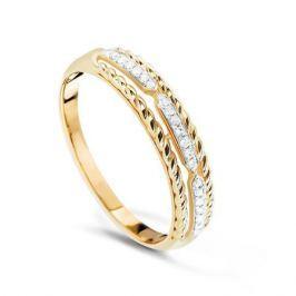 Кольцо с бриллиантами из розового золота VALTERA 74718