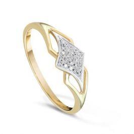 Кольцо с бриллиантами из желтого золота VALTERA 79377