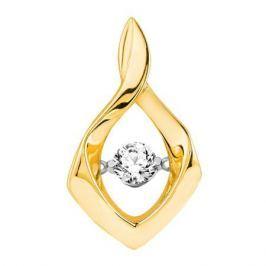 Подвес с бриллиантами из желтого золота VALTERA 90563