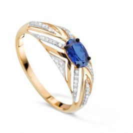 Кольцо с сапфирами и бриллиантами из розового золота VALTERA 78068