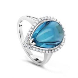 Кольцо из серебра VALTERA 66103