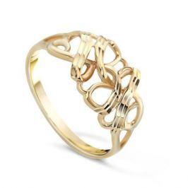 Кольцо из розового золота 81609