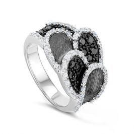 Кольцо из серебра VALTERA 44151