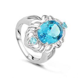 Кольцо из серебра VALTERA 45388