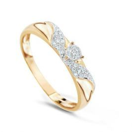 Кольцо с бриллиантами из розового золота VALTERA 74720