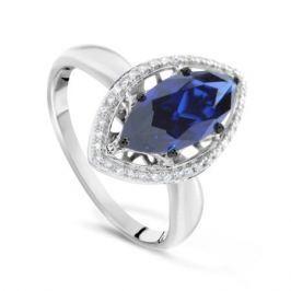 Кольцо с сапфирами и бриллиантами из белого золота VALTERA 77007