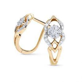Серьги с бриллиантами из розового золота VALTERA 71726