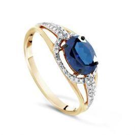 Кольцо с сапфирами и бриллиантами из розового золота VALTERA 71750