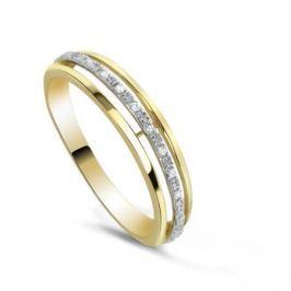 Кольцо с бриллиантами из желтого золота VALTERA 82374