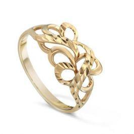 Кольцо из розового золота 81607