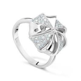 Кольцо с бриллиантами из белого золота VALTERA 43408