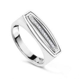 Кольцо с бриллиантами из белого золота VALTERA 57752