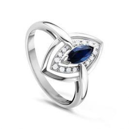 Кольцо с сапфирами и бриллиантами из белого золота VALTERA 51166
