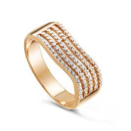 Кольцо из розового золота 81643