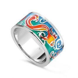 Кольцо с эмалью из серебра VALTERA 78452