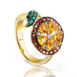 Кольцо из серебра VALTERA 91640