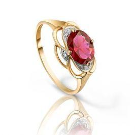 Кольцо с рубинами и бриллиантами из розового золота VALTERA 92793